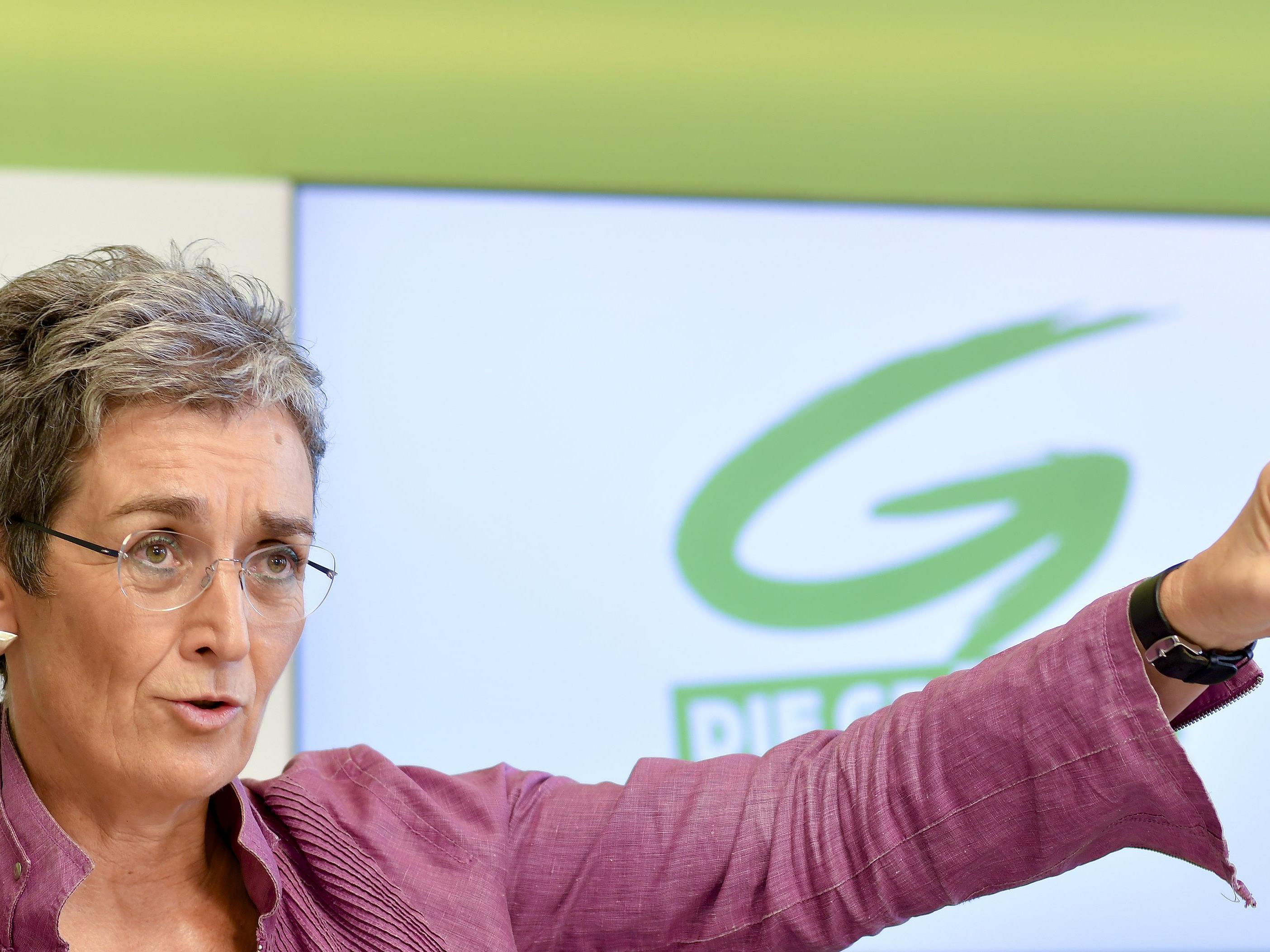 Die Grüne Spitzenkandidatin zu den Plänen von Peter Pilz