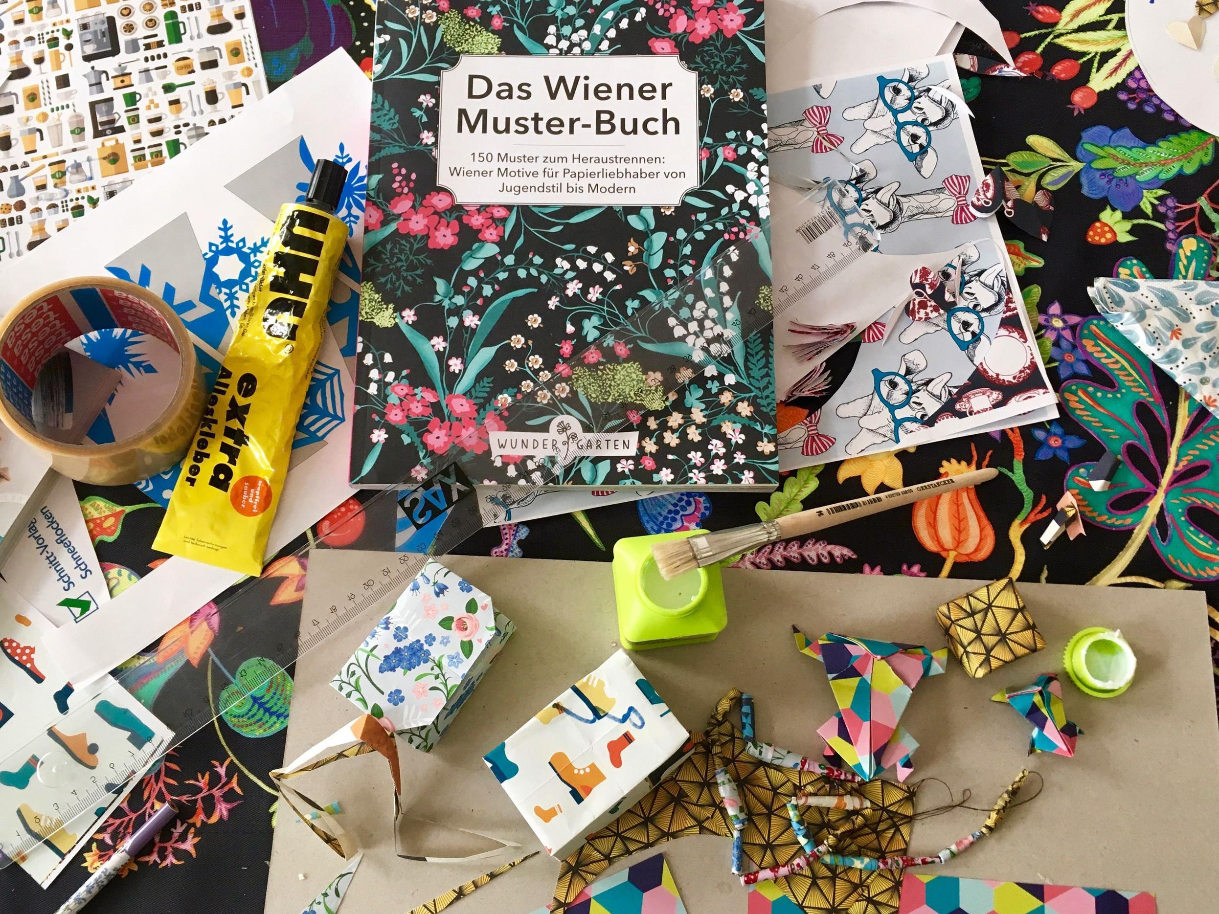 """Das """"Wiener Muster-Buch"""" lädt zum Basteln ein"""