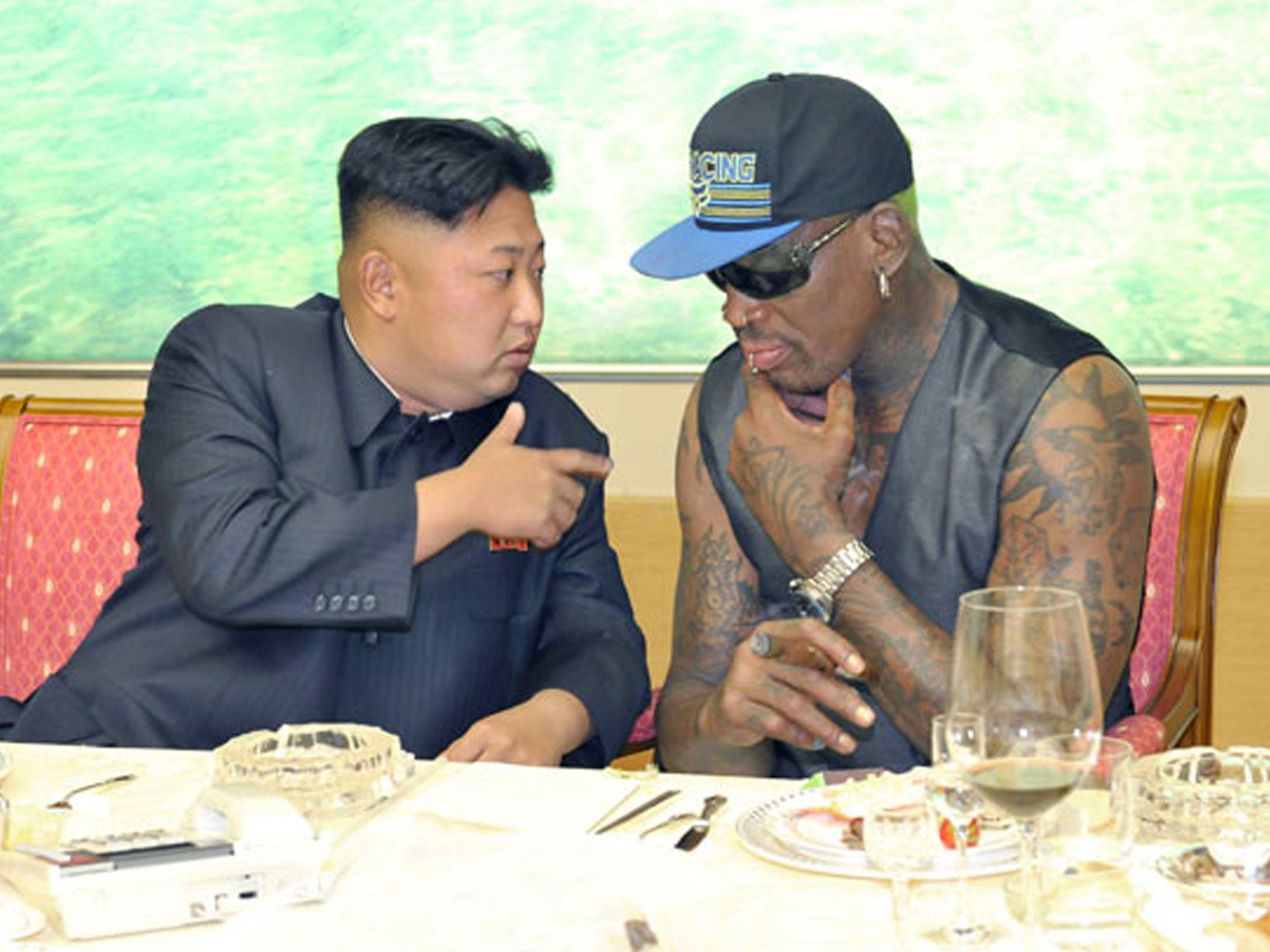 Es ist Rodmans fünfter Besuch in Pjöngjang seit 2013.