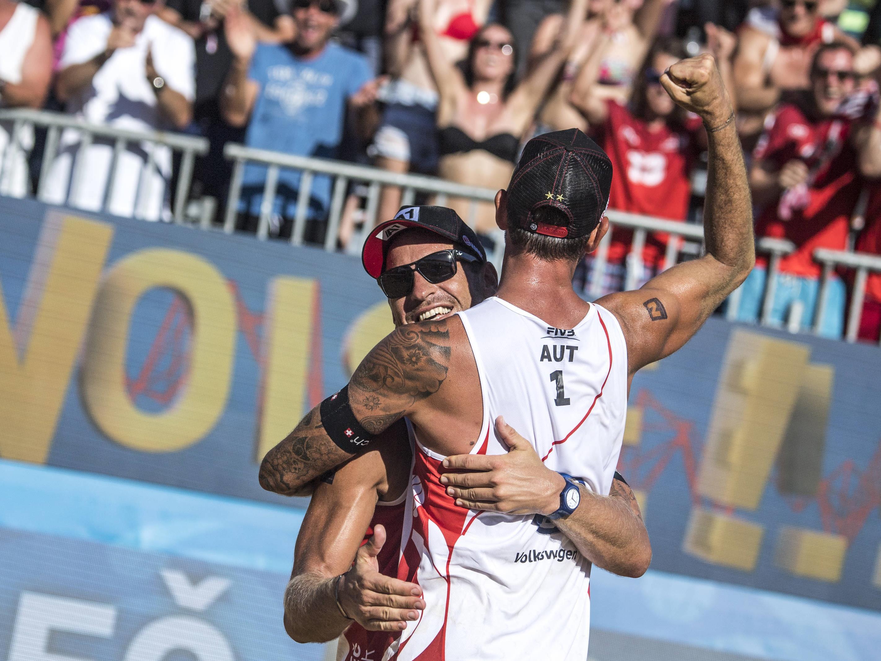Clemens Doppler und Alexander Horst sind Gruppenkopf bei der Auslosung der WM-Vorrunde.
