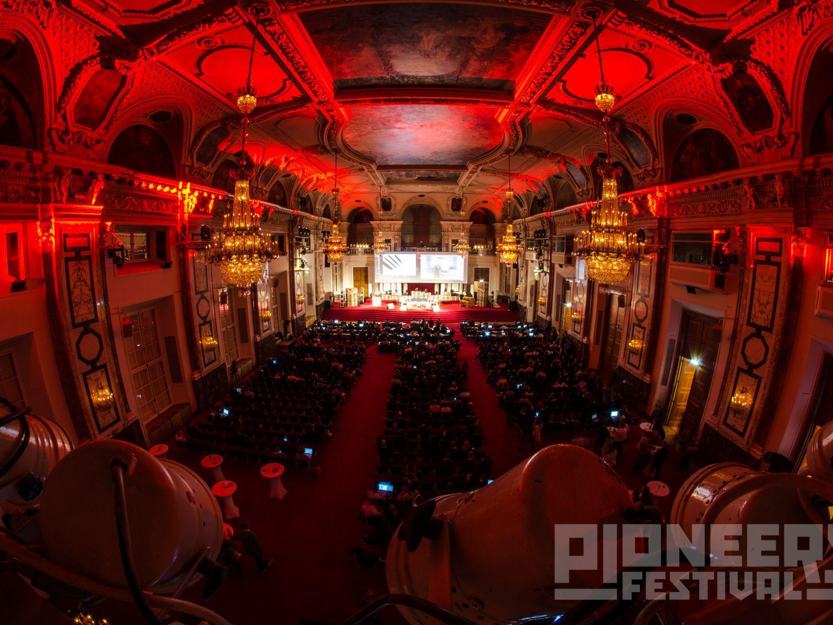 Die Start-Up-Szene trifft sich zum Pioneers Festival in der Hofburg