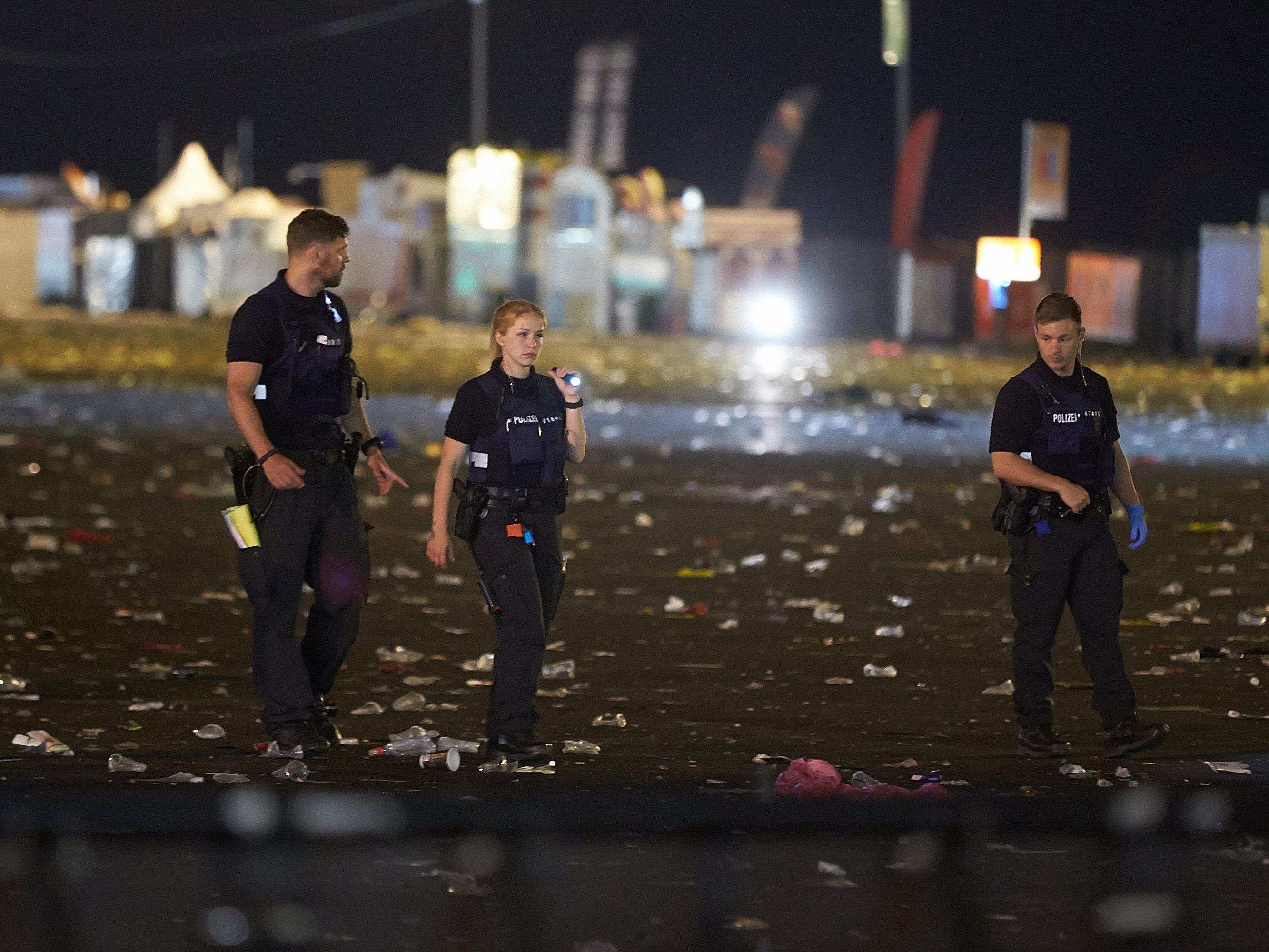 """Nach Durchsuchungen der Polizei geht das """"Rock am Ring"""" weiter"""