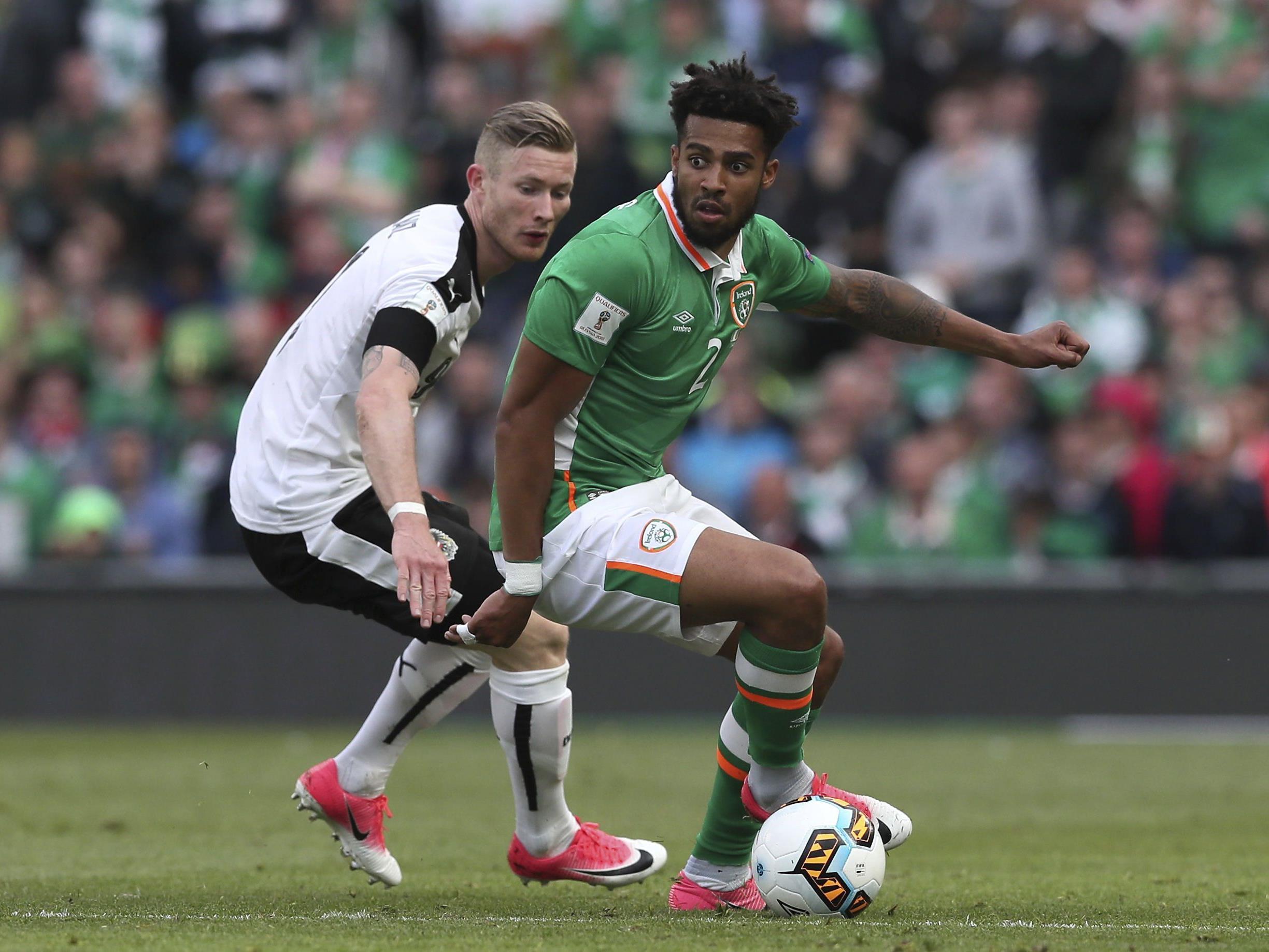 Florian Kainz und das ÖFB-Team kassierten in Irland den späten Ausgleich.