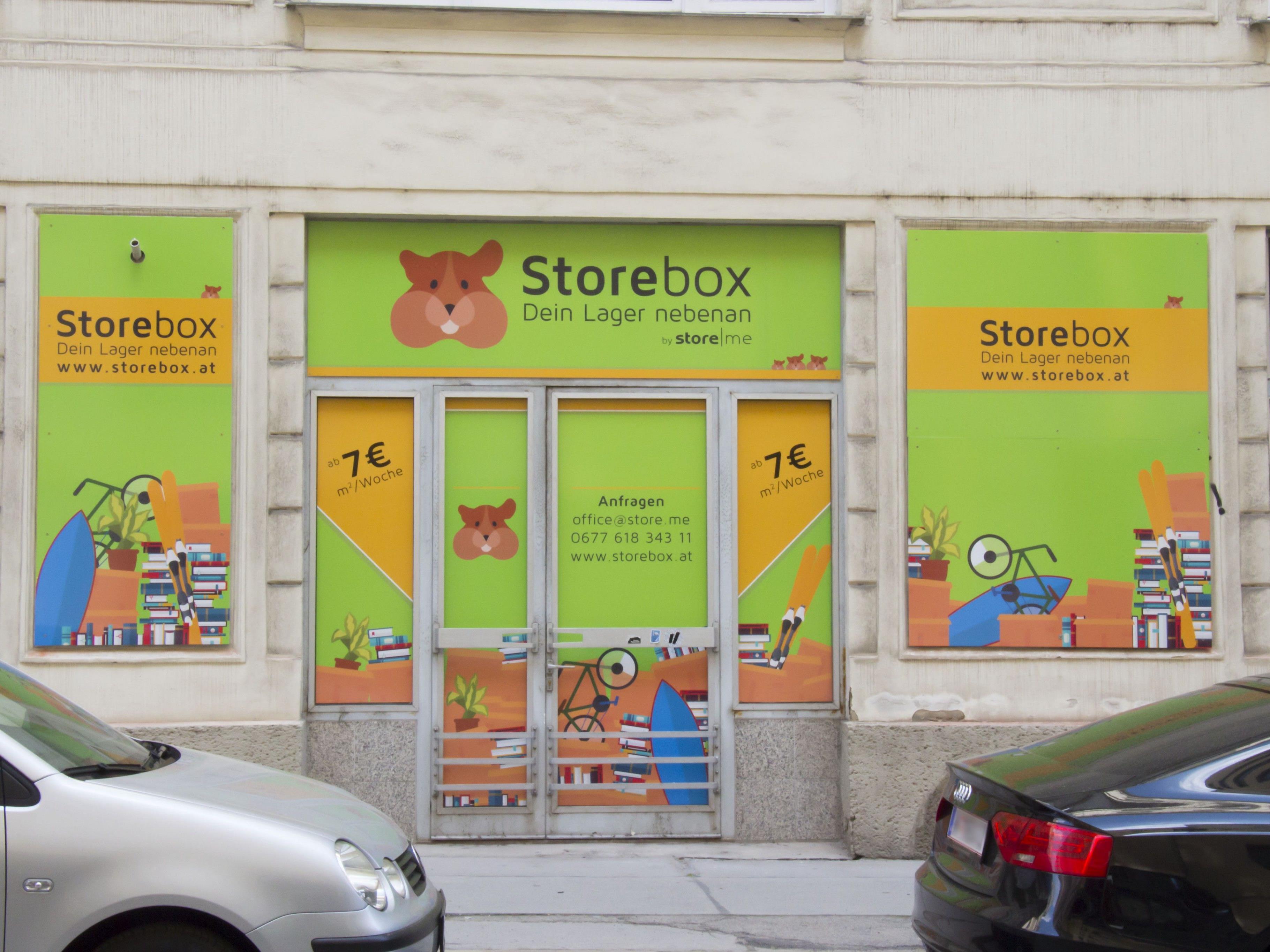 store.me eröffnet die Storebox bei der Freyung.