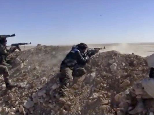 IS-Miliz in syrischer Hochburg zunehmend unter Druck.