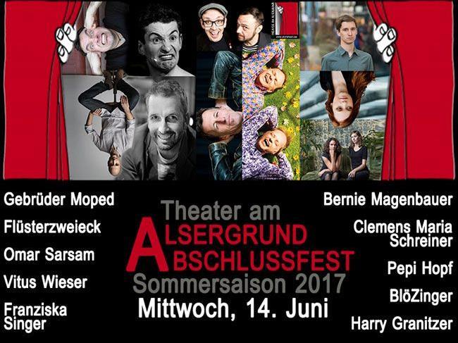 Das Theater am Alsergrund lädt zum Abschlussfest.