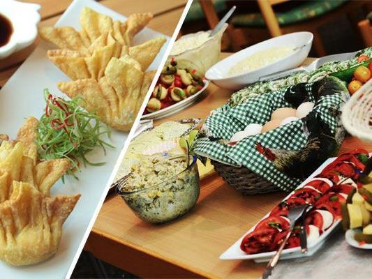 VIENNA.at hat die besten All you can eat-Lokale in ganz Wien gesammelt.