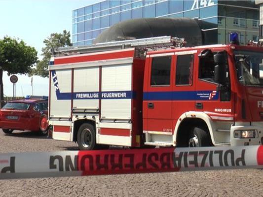 Im Medienhaus am See in Friedrichshafen ist eine Bombendrohung eingegangen. Der Buchhornplatz wurde abgesperrt.