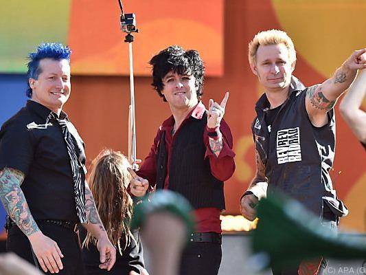 Unter den Headlinern: Die Band Green Day beehrt das Nova Rock
