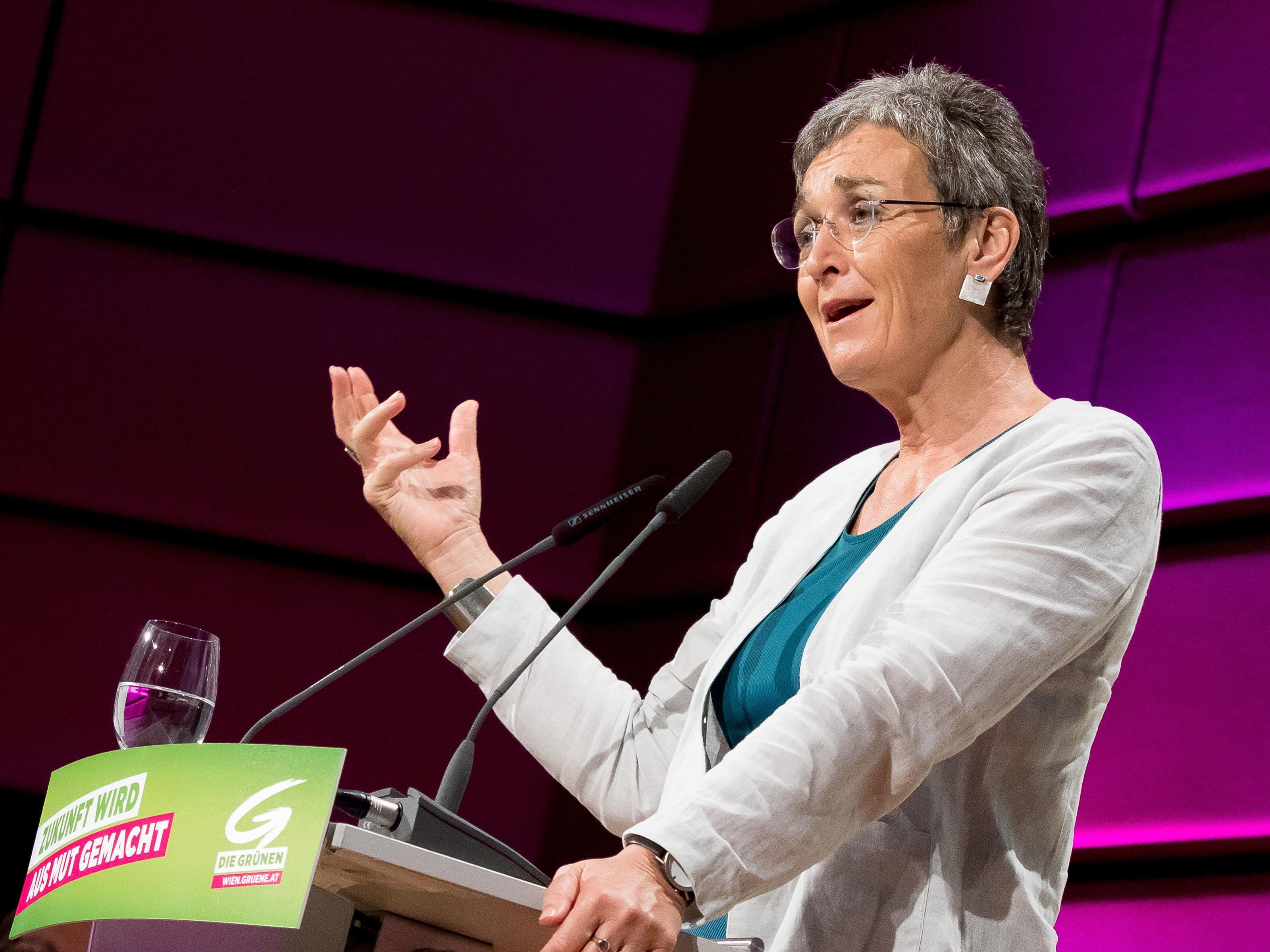 Ulrike Lunacek tritt als Spitzenkandidatin bei der Nationalratswahl 2017 an.