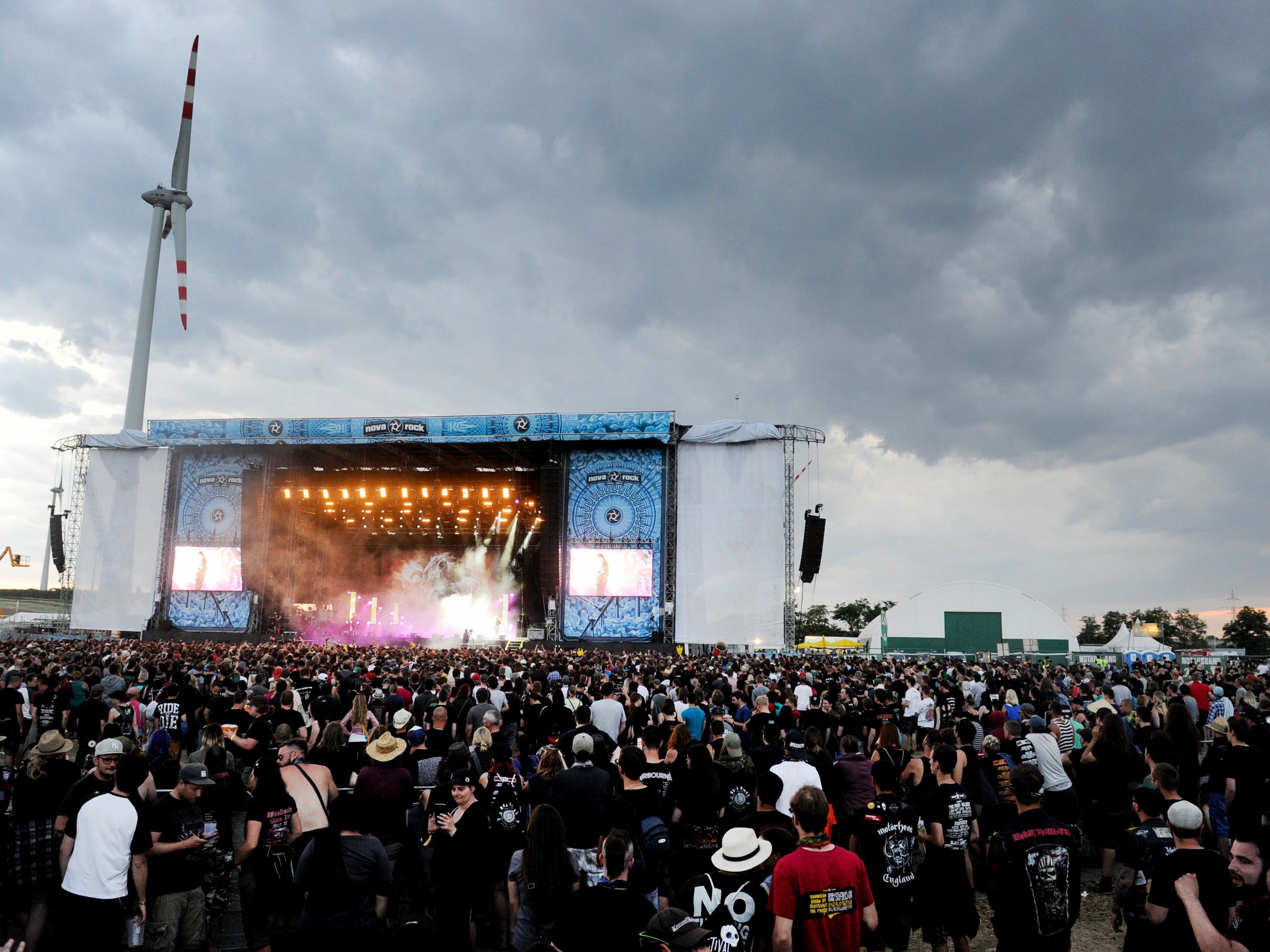 System of a Down und Prophets of Rage als Highlights beim Nova Rock 2017.
