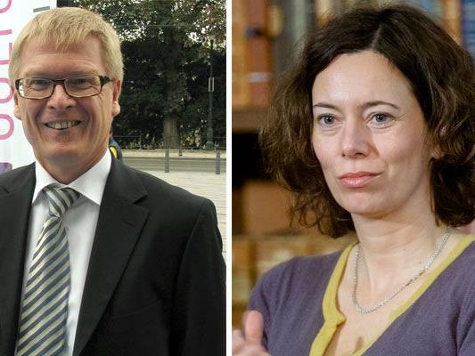 Paulus Hochgatterer und Eva Menasse lesen heuer bei den O-Tönen im MQ