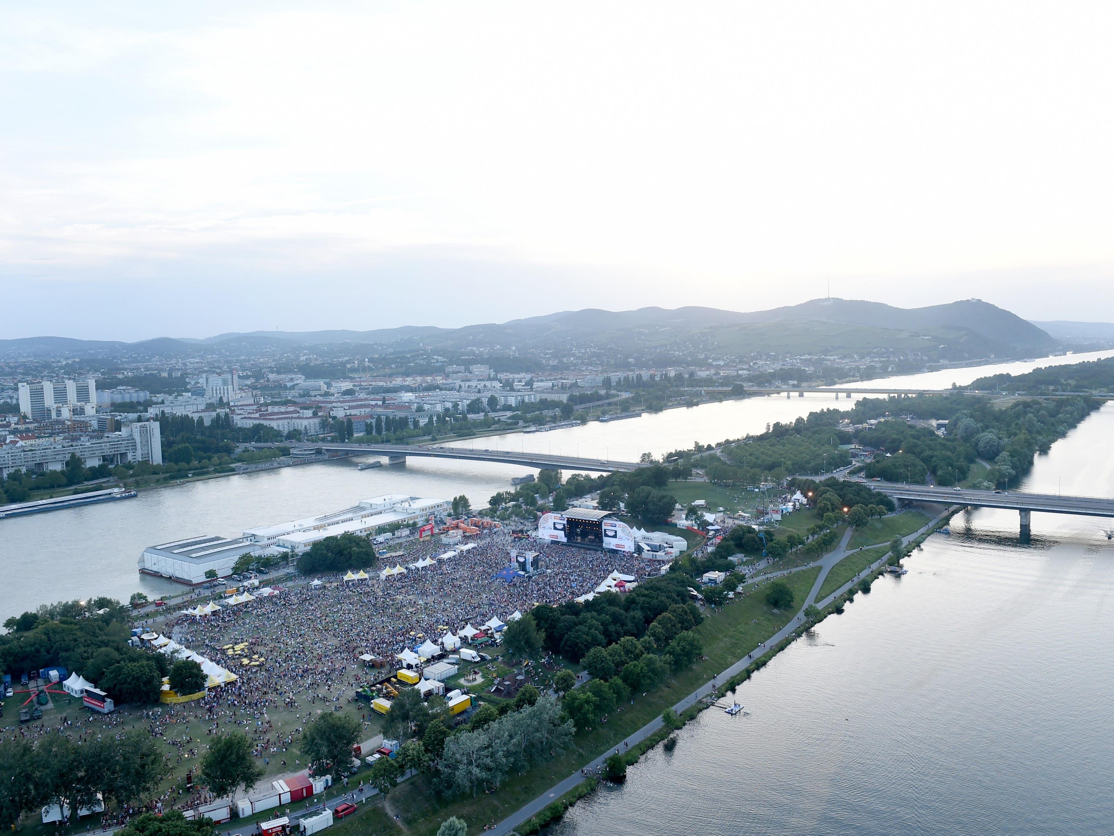 Rund um die Wiener Donauinsel wird es am kommenden Wochenende stauen.