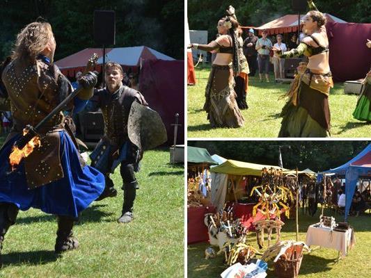 Beim Mittelalterfest Tribuswinkel gab es wieder zahlreiche Programm-Highlights.