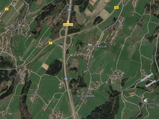 Weißensberg liegt unweit der Vorarlberger Grenze im Landkreis Lindau.