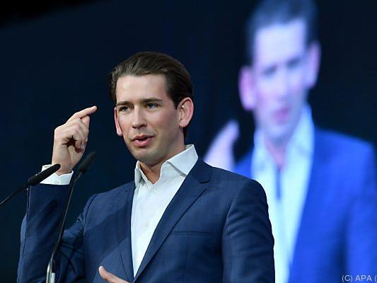 Kurz wird offiziell neuer Parteichef der ÖVP