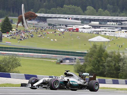 Hochsommerliches Wetter wird zum Formel 1-Wochenende in Spielberg erwartet.