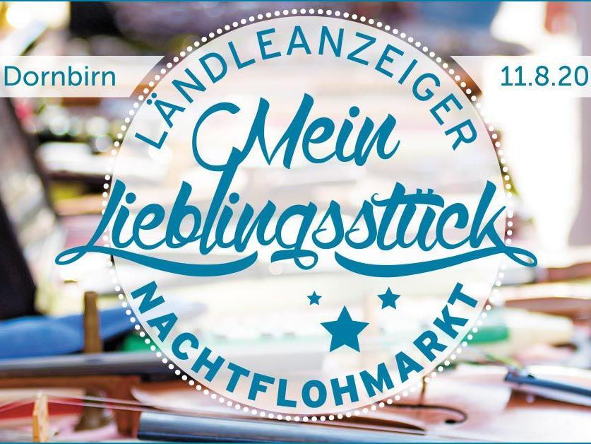 Freu dich auf den mit 80 Ständen größten Ländleanzeiger-Nachtflohmarkt in Dornbirn!