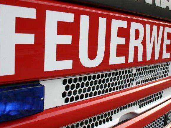 Die Feuerwehr Ludesch war mit 30 Mann im Einsatz.