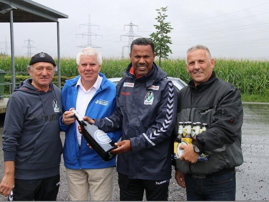 Ried mit Trainer Lassaad Chabbi trainierte in Brederis