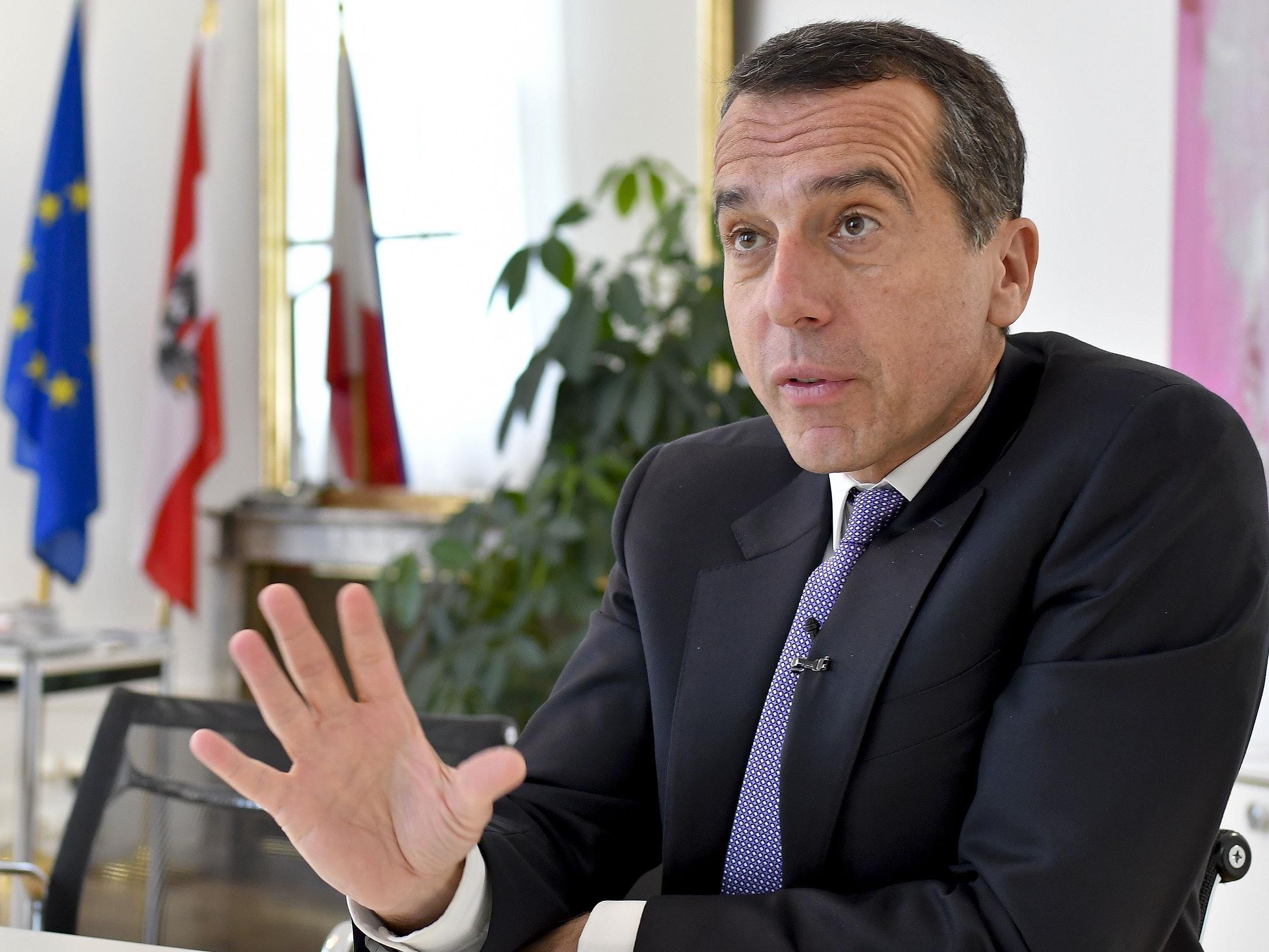 Bundeskanzler Christian Kern über die großen SPÖ-Themen für die nächste Regierungsperiode.