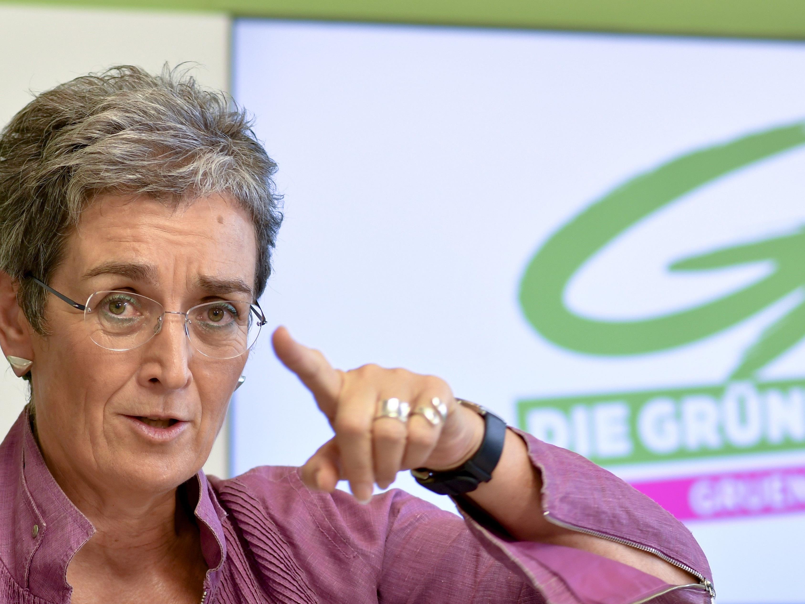 Die neue Grüne Spitzenkandidatin Ulrike Lunacek.