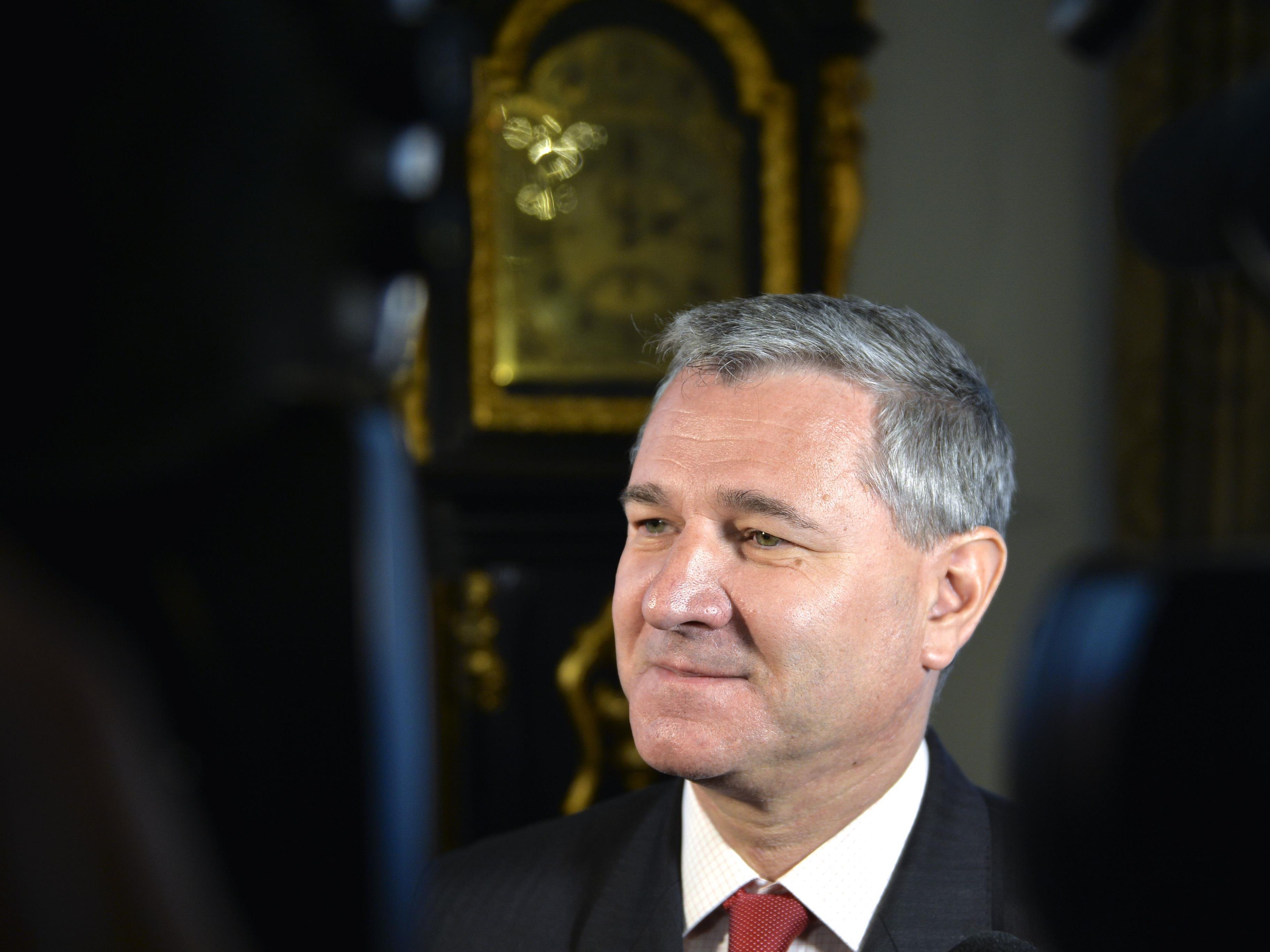 Bundesgeschäftsführer Georg Niedermühlbichler äußerte sich ui Koalitionsoptionen