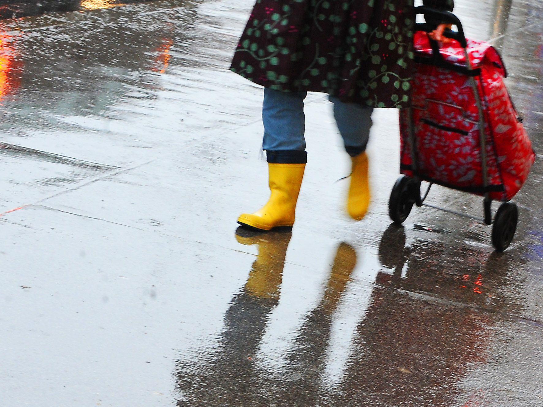 In Niederösterreich kam es am Sonntag zu heftigen Gewittern.