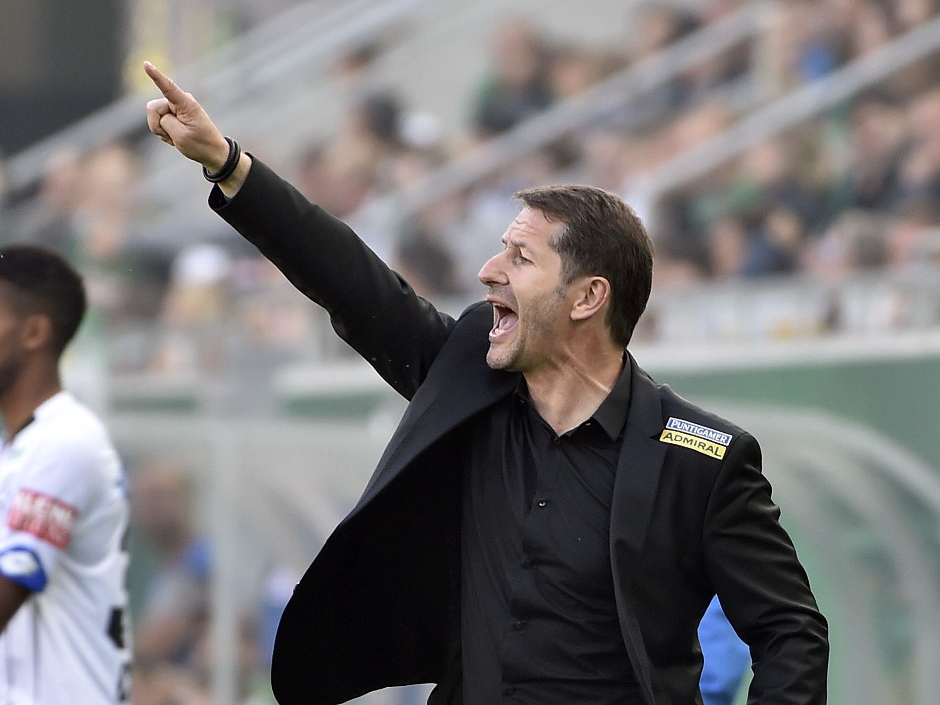 Sturm-Trainer Franco Foda hofft auf einen erfolgreichen Start in die Europa-League-Quali.