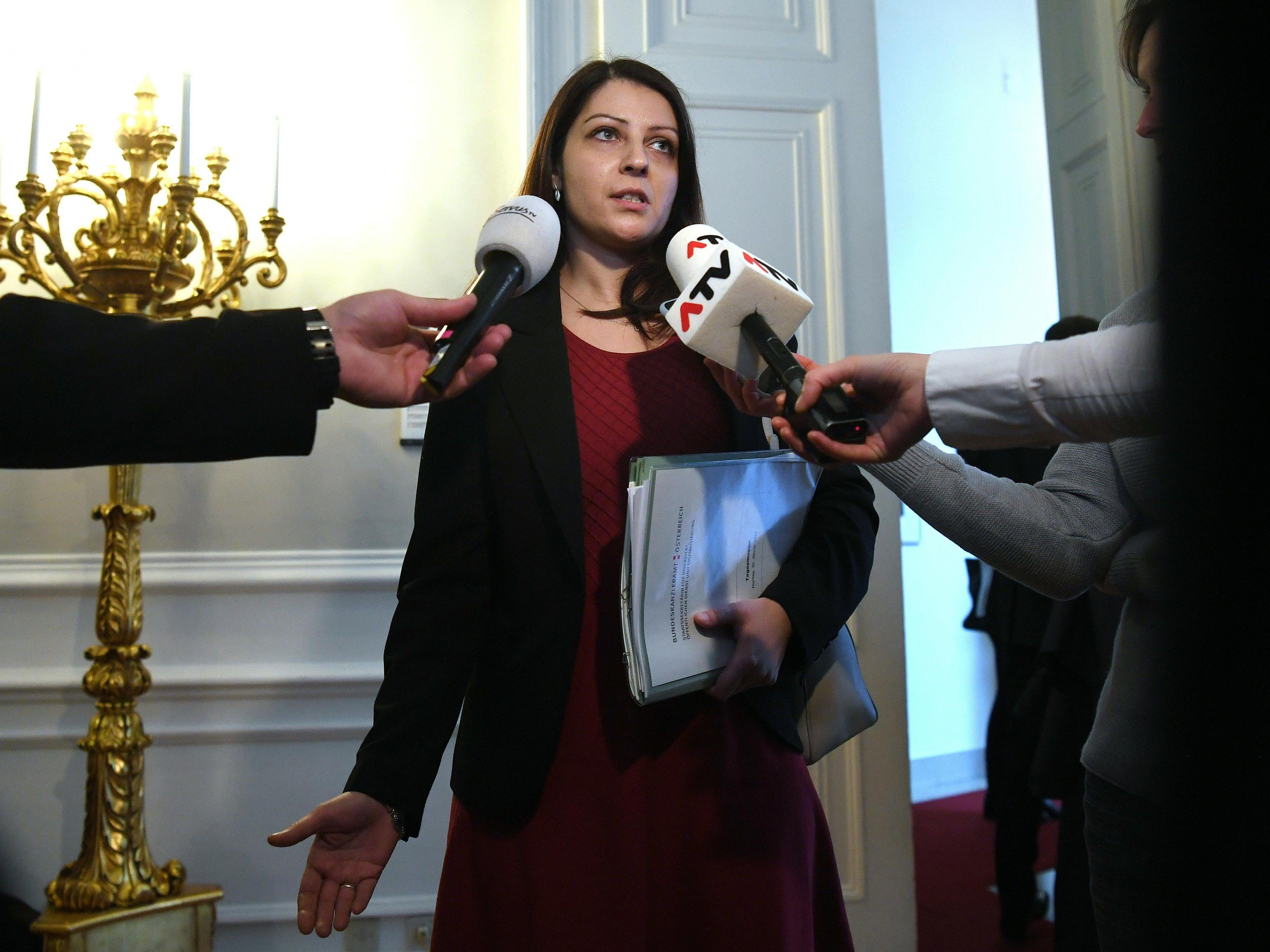 Muna Duzdar bestätigte Medienberichte zur Prüfung der Auslandsfinanzierung.