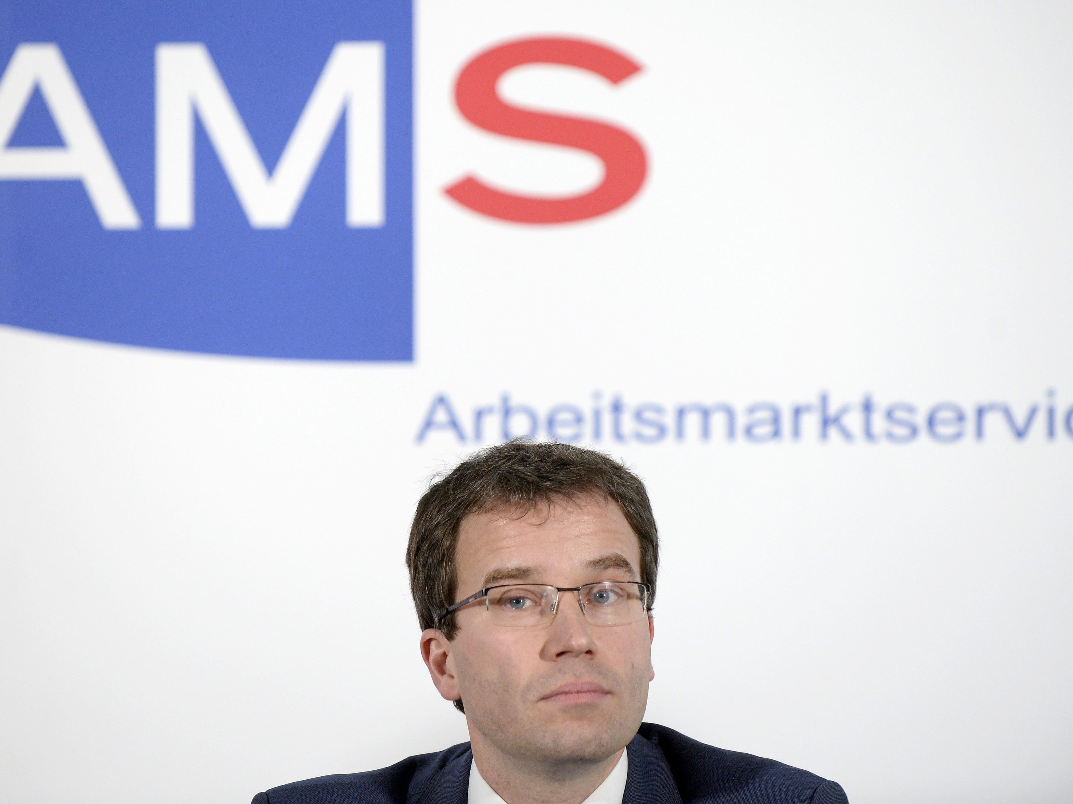AMS-Vorstand Johannes Kopf.