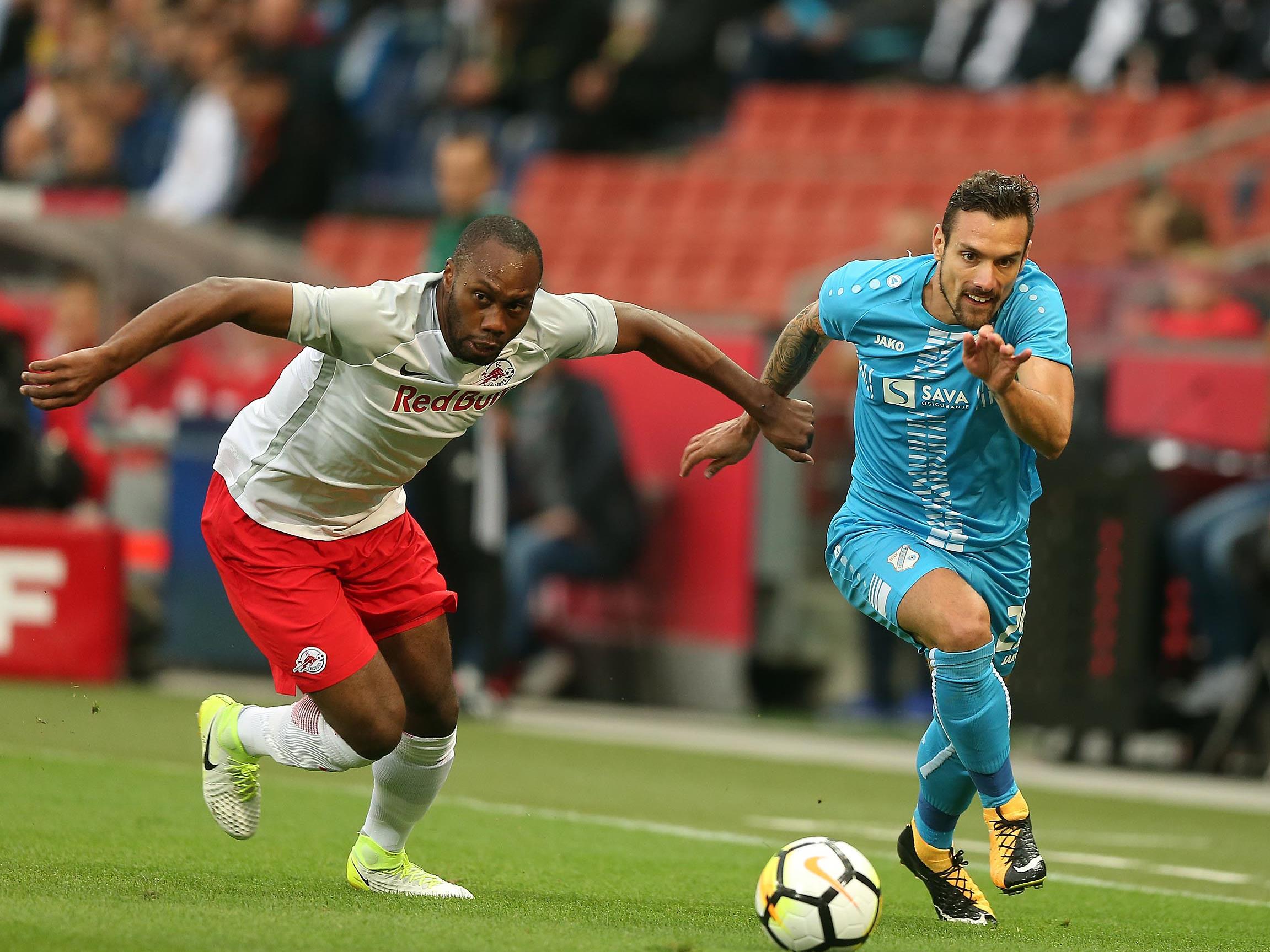 Die Salzburger erzielten gegen Rijeka bloß ein 1:1.