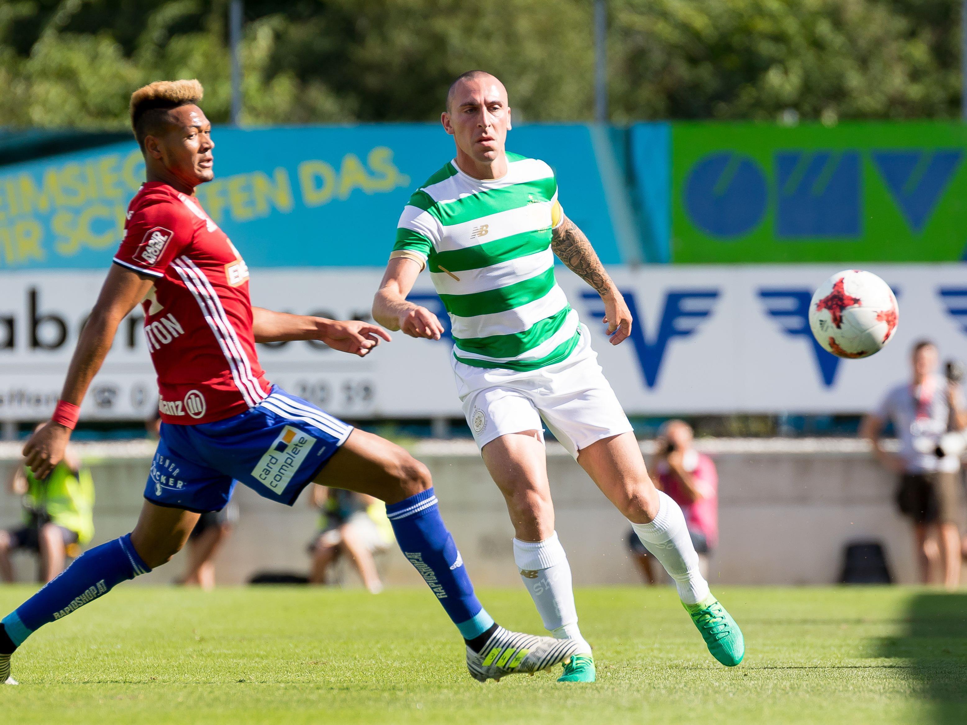 Rapid und Celtic trennten sich 1:1.