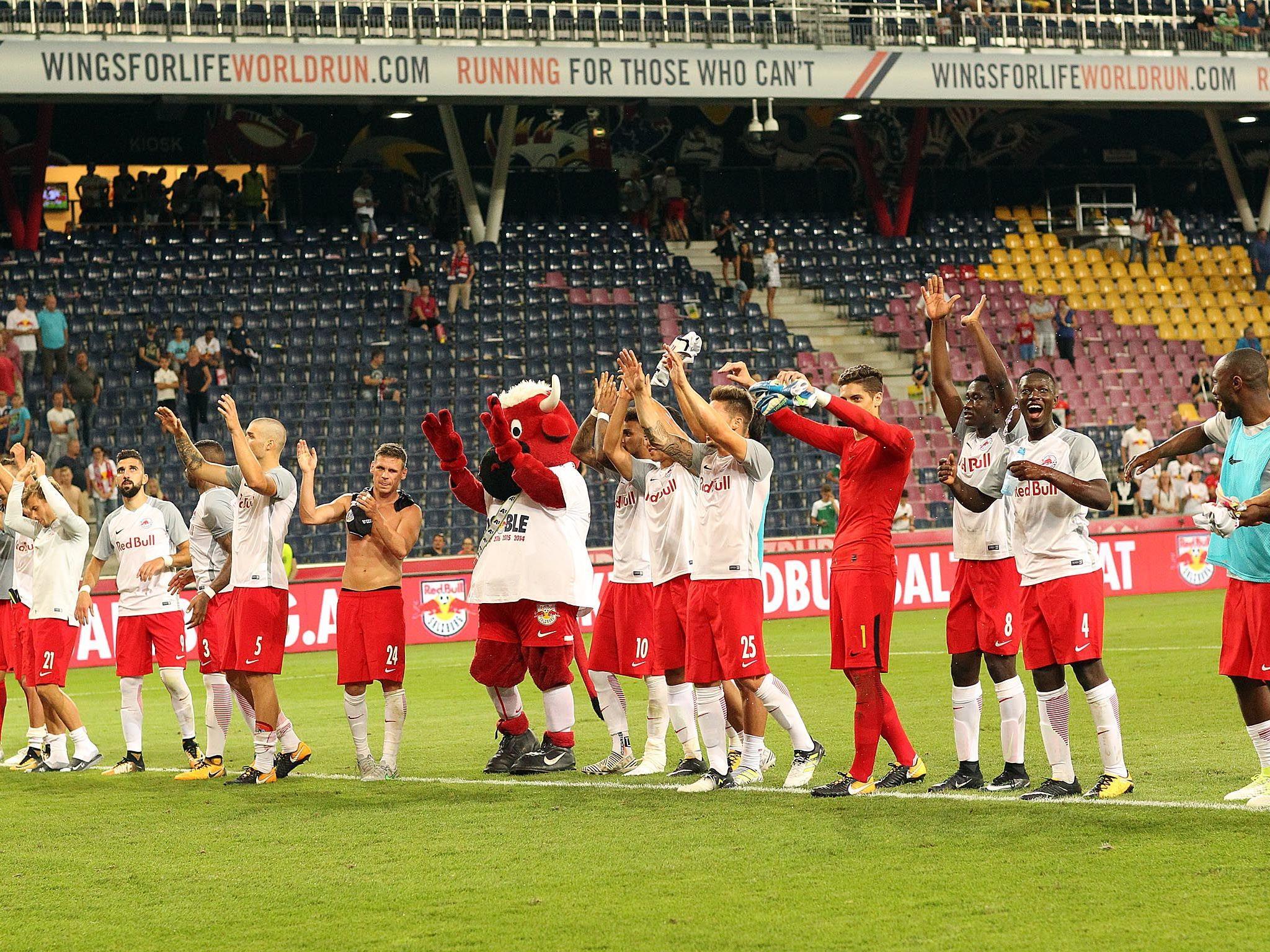 Red Bull Salzburg steht in der nächsten Runde der CL-Qualifikation.