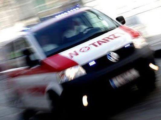 Bei einem Unfall in Döbling wurde ein Biker schwer verletzt