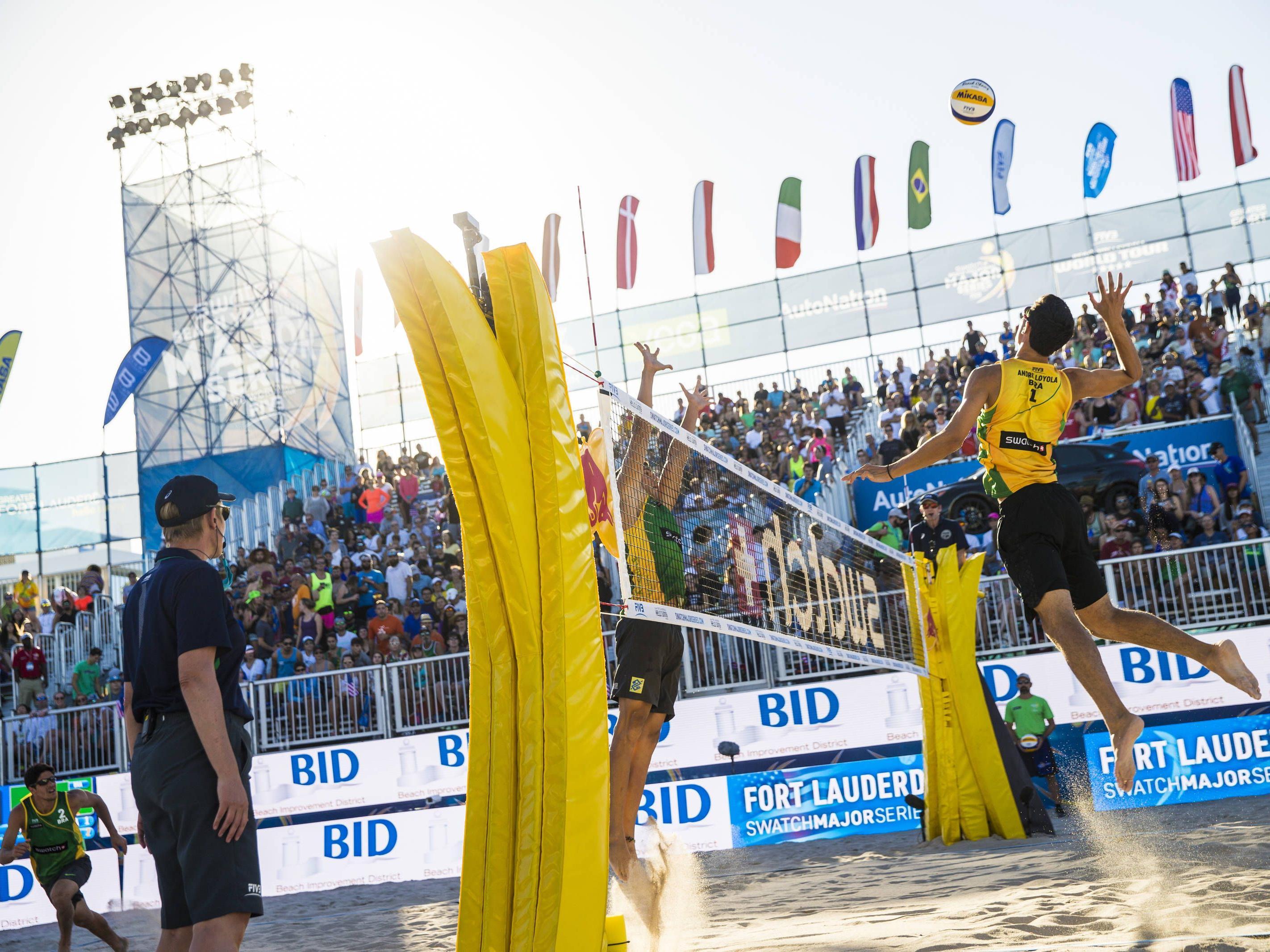 Die Beach-Volleyball-WM ist das Sport-Highlight im Sommer in Wien.