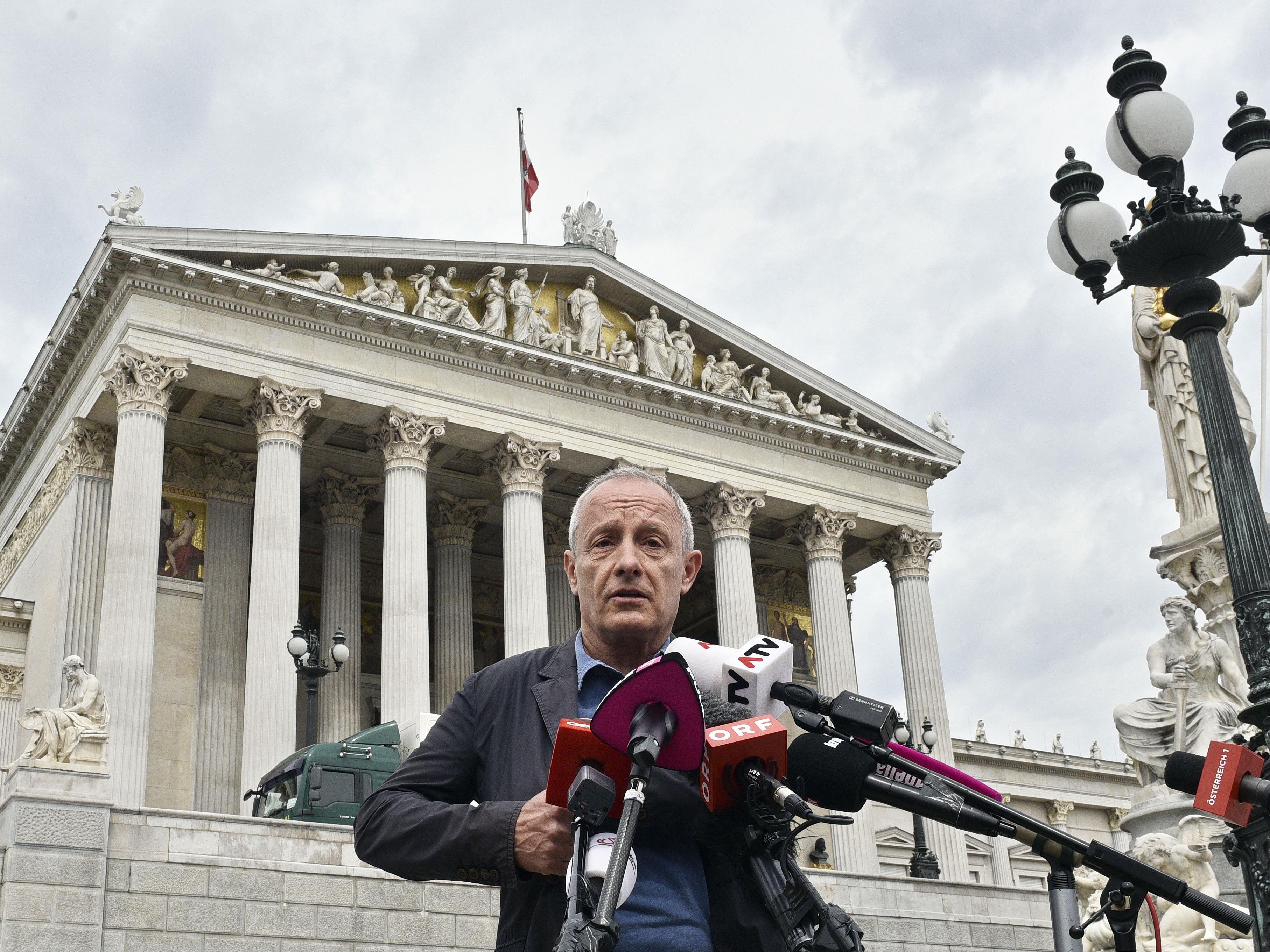 Peter Pilz wird heute zu seiner möglichen Kandidatur Stellung nehmen