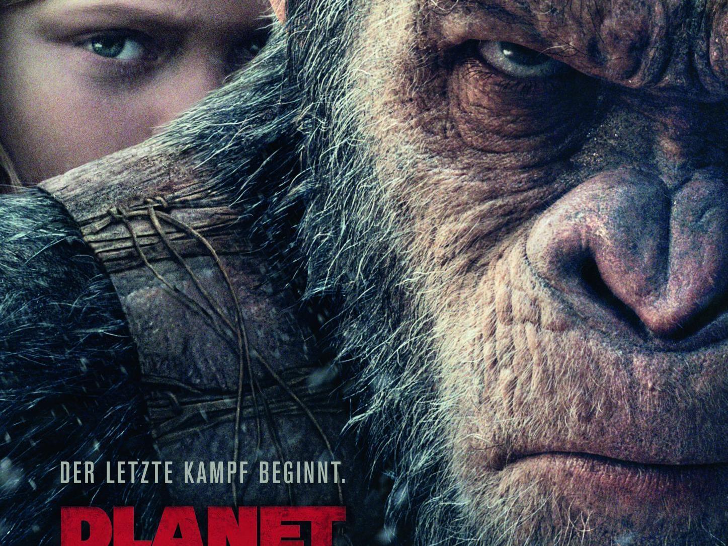 Planet der Affen: Survival ist gegen eine freie Spende für den guten Zweck in der Lugner City Wien zu sehen.
