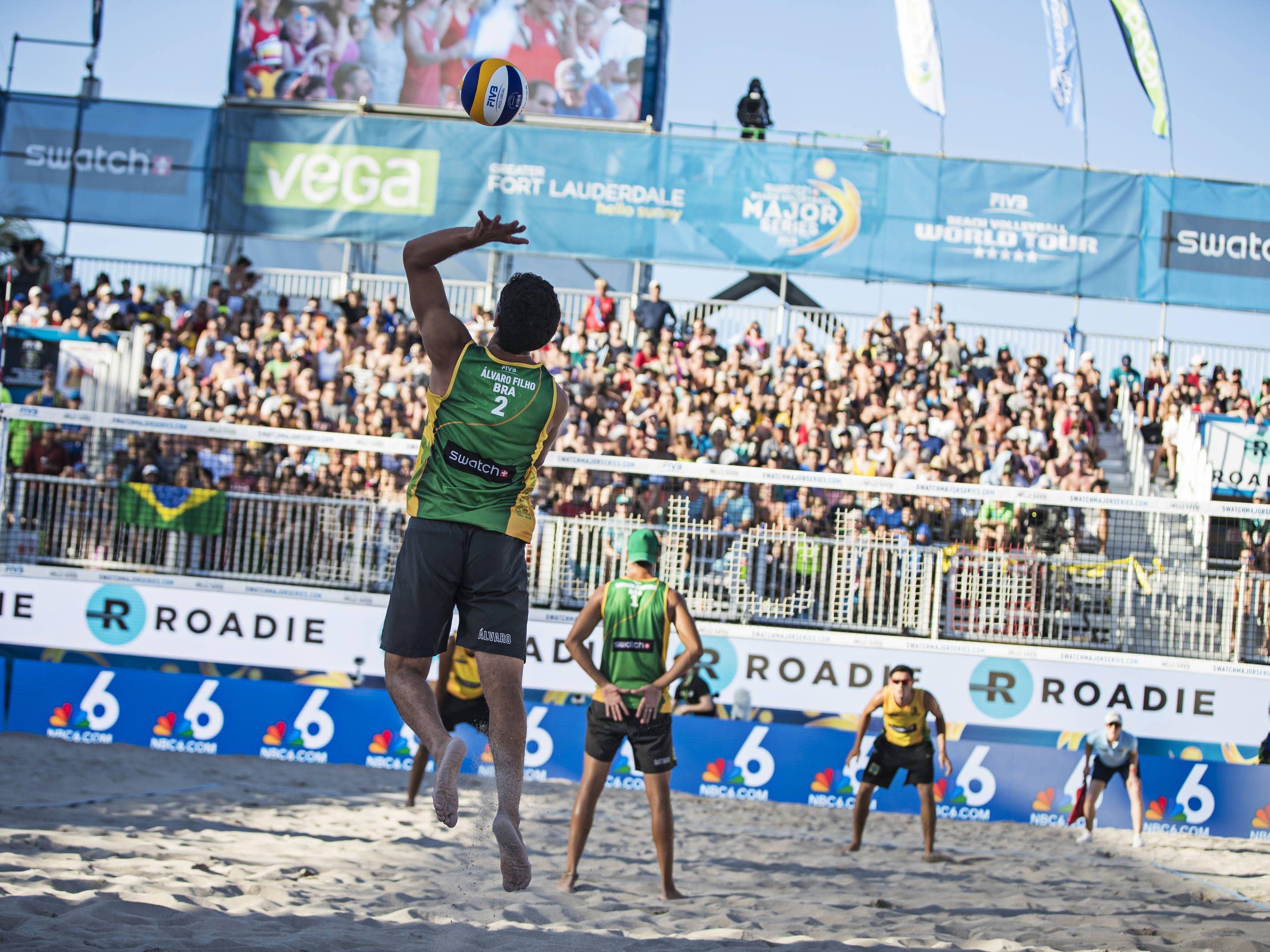 Der Beach-Volleyball-WM-Spielplan der Herren für die Endrunde 2017 auf der Wiener Donauinsel.