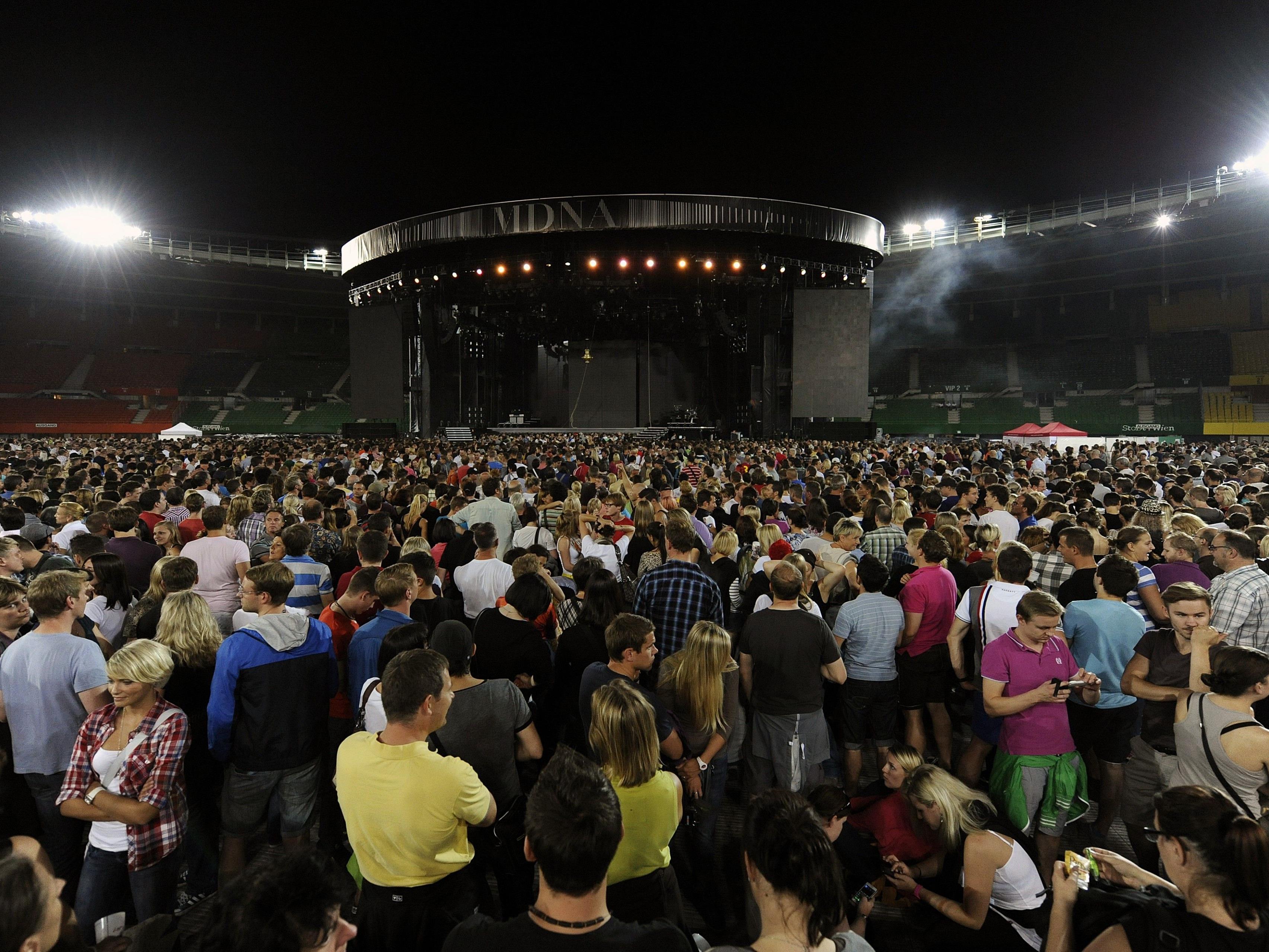 Rund um das Ernst Happel Stadion werden wegen dem Guns N' Roses Konzert Staus erwartet.