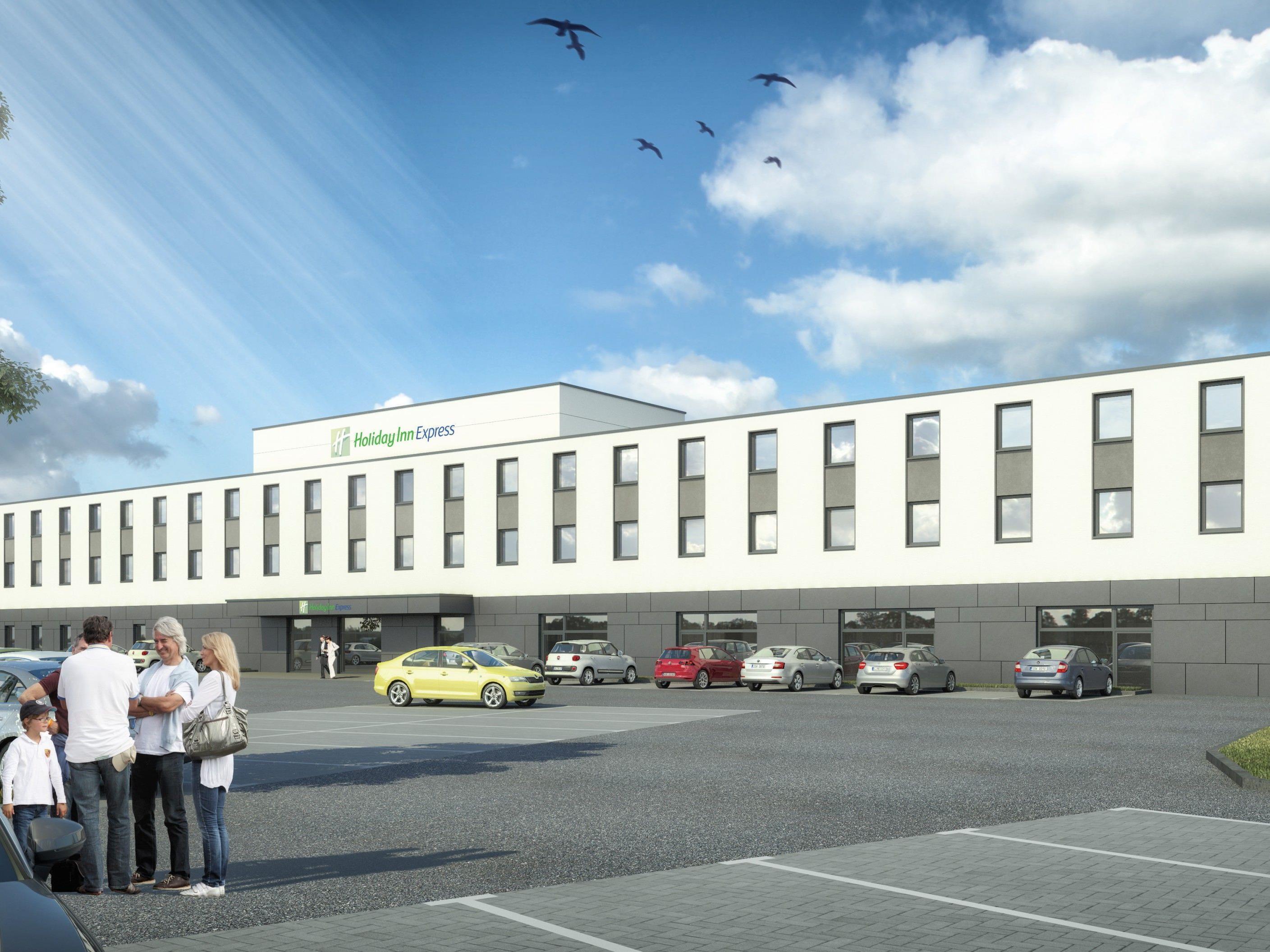 i+R errichtet das Holiday Inn Express in Ringsheim mit 131 Zimmern bis August 2018.
