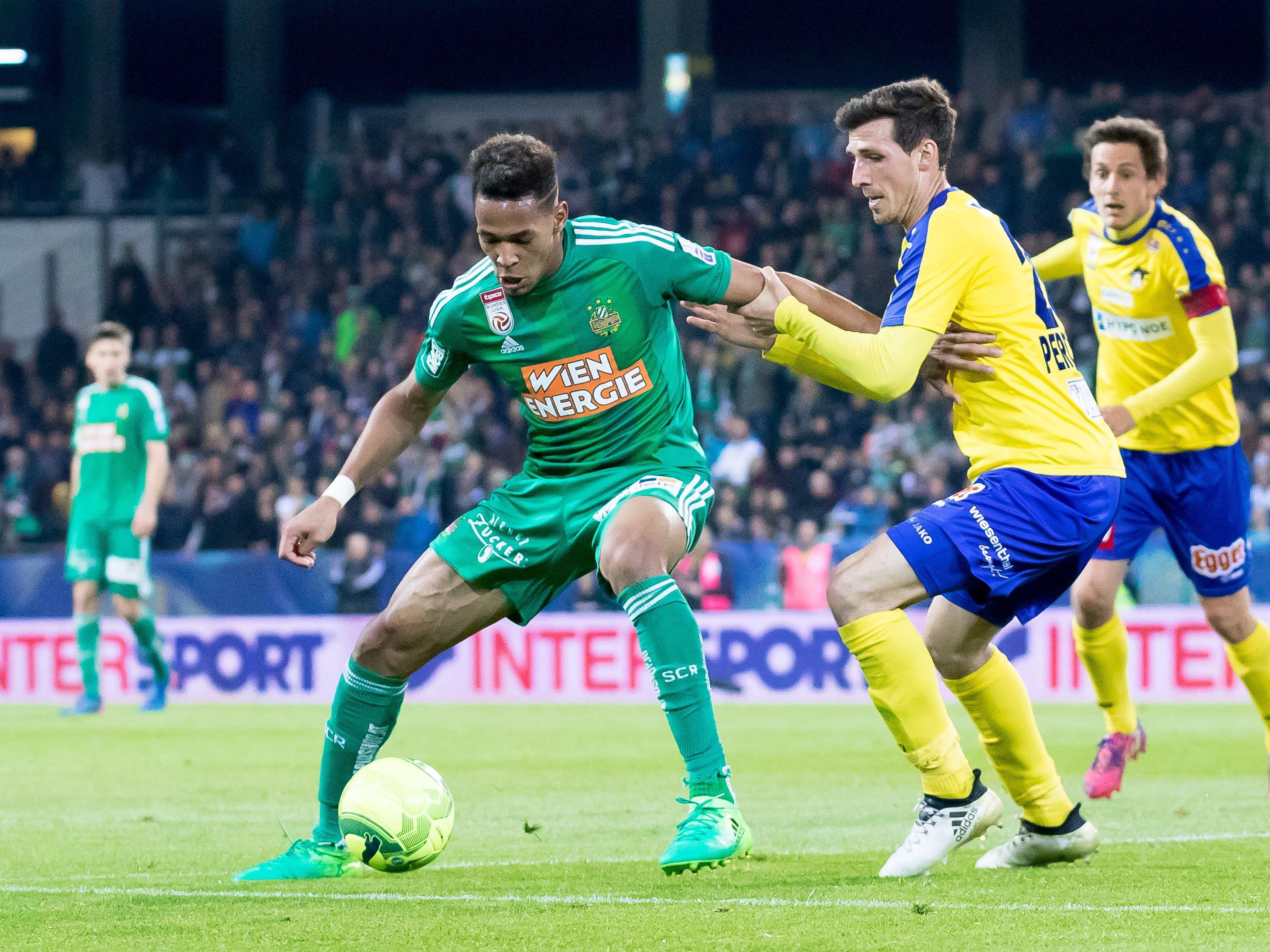 LIVE-Ticker zum Spiel SKN St. Pölten gegen SK Rapid Wien ab 18.30 Uhr.
