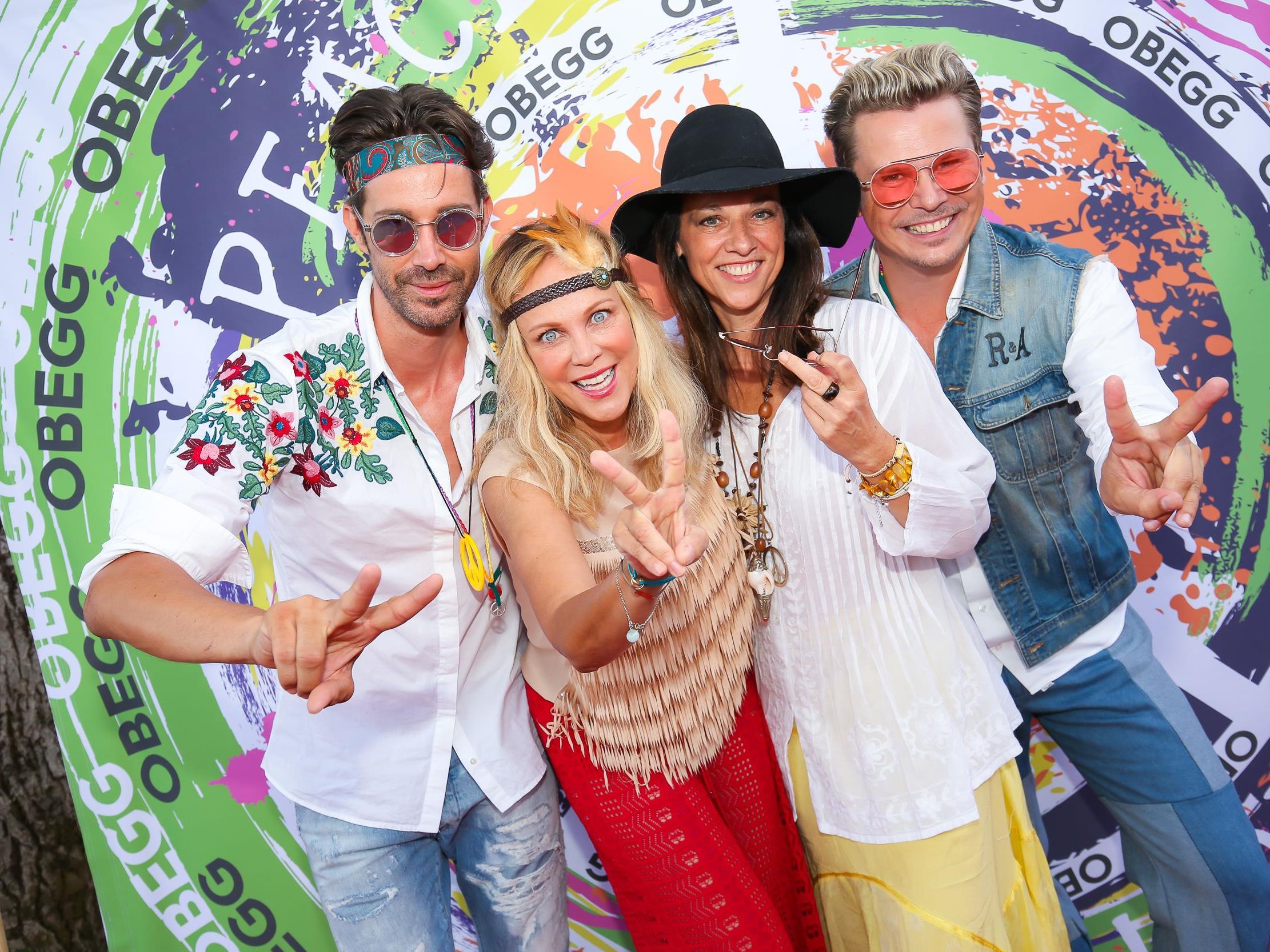 So wurde beim 2. Obegg-Sommerfest in der Südsteiermark gefeiert.