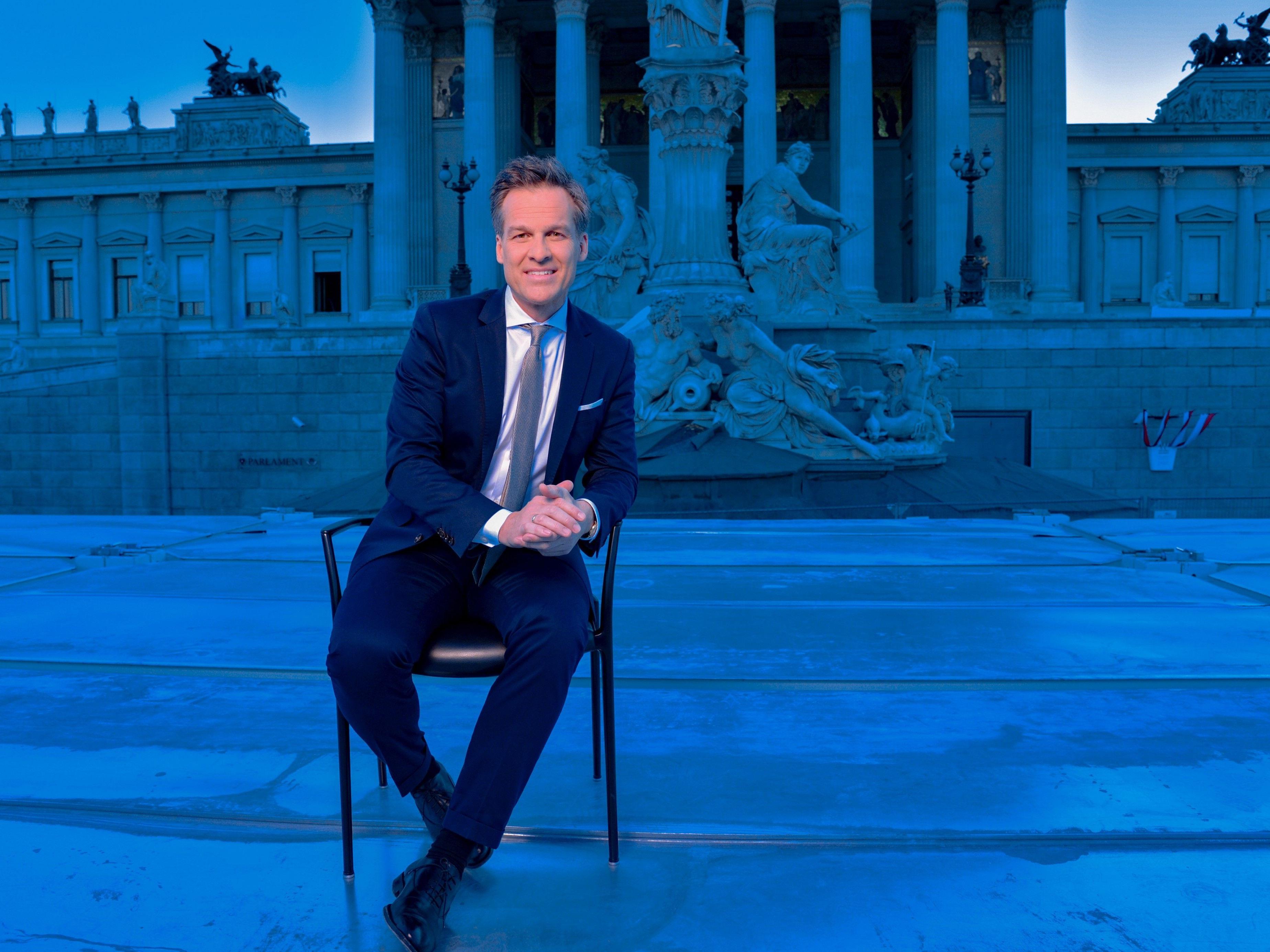 Moderator Tarek Leitner bedauert Absage Stronachs