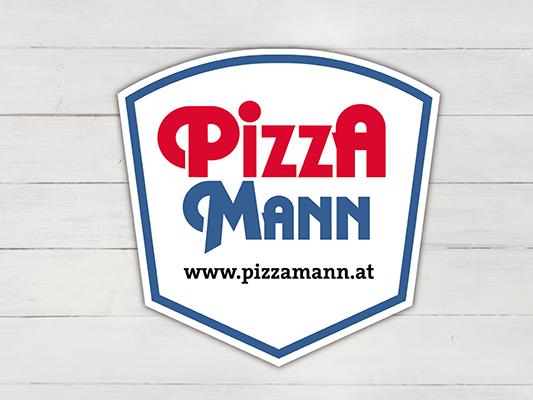 10 Pizza-Mann-Gutscheine zu gewinnen.