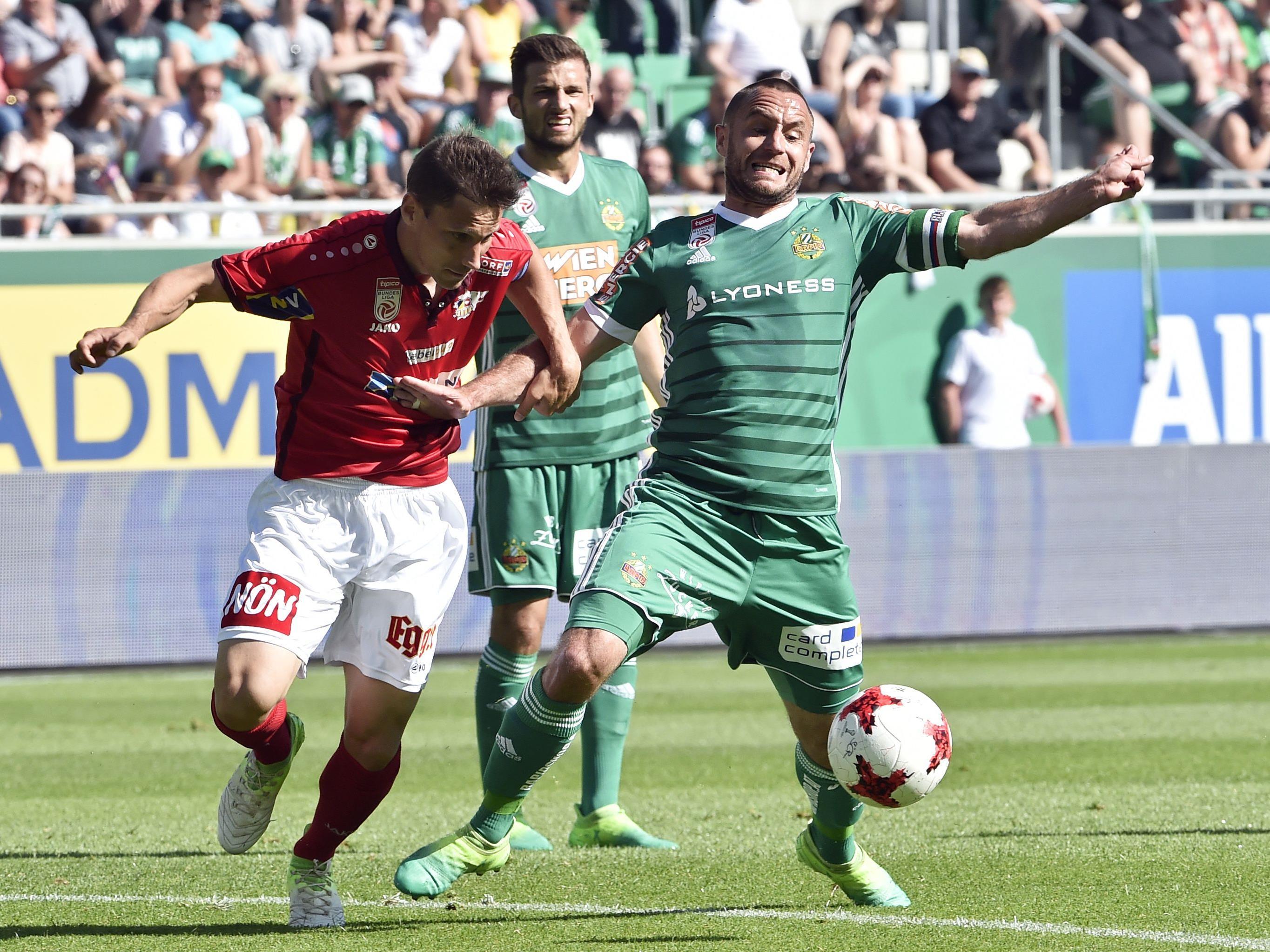 Rapid gastiert in Runde zwei der Bundesliga beim SKN St. Pölten.