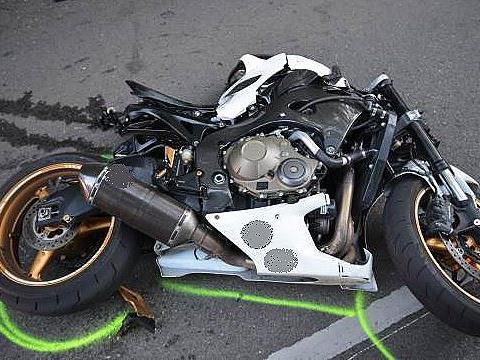 Auf der Exelbergstraße in Wien-Hernals ereignete sich der tödliche Motorradunfall.