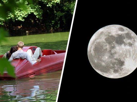 Am 9. Juli herrscht wieder romantische Stimmung auf der Alten Donau.