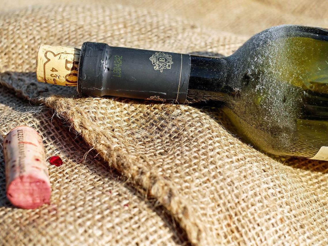 Der mutmaßliche Wein-Dieb wurde an Ort und Stelle festgenommen.
