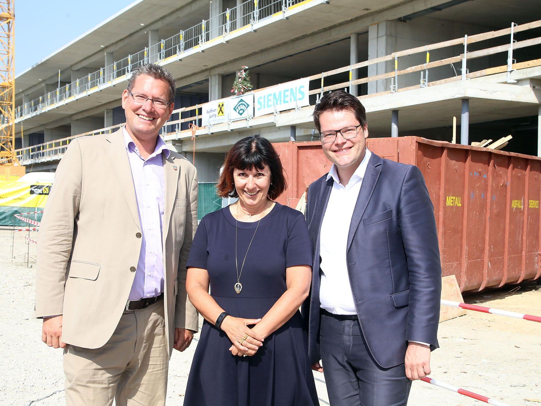 In Wien-Floridsdorf entsteht eine neue Ganztagsschule.